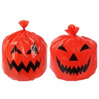 Halloween Large Decorative Pumpkin Lawn Bags for Outdoor Yard Decor