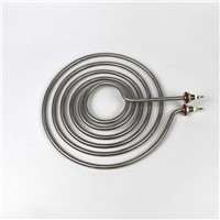 Grill Baker Parts Electric Heating Element 220V 3Kw Stainless Steel Circular Spiral Coil Tube Tubular Heaters for Oven