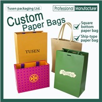OEM Paper Bags | Colorful Printed Handbag