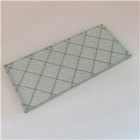 6mm Clear Wired Glass for Windows & Doors