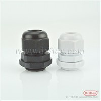 BLACK NYLON CABLE GLANDS NETRIC THREAD