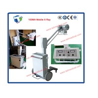 Medical Hospital High Frequency X Ray Equipment 50 100 200 300mA Portable Mobile X-Ray Machine