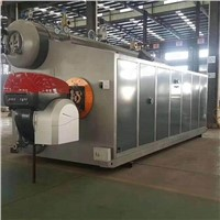 15 Ton SZS Series Double Drum Oil & Gas Fired Steam Boiler for Textile Mill/Garment Factory