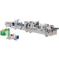 Automatic Pre-Fold & Lock-Bottom Folder Gluer Model SHH-600AG/800AG