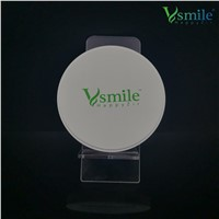 Vsmile 98mm ST Dental Zirconia Block with Super Translucency 41% for Full Contour for Dental Lab Open CADCAM Machine