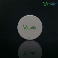 Vsmile 98mm UT Multilayer Zirconia Blocks for Dental Laboratory with Open CADCAM System Available in Vita 16 Col