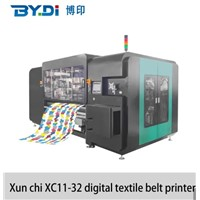 High Speed Large Format Digital Textile Printer Machine with 32 Ricoh Printhead XC11-32