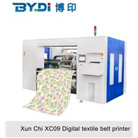 Large Format T Shirt Textile Belt Printer Machine with 8 Kyocera Print Head XC09-8