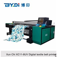Large Format UV Digital Textile Printer with 8 Ricoh G5 Print Head
