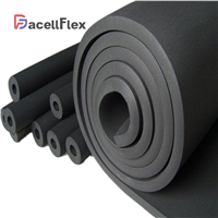 Dacellflex Factory Elastomeric NBR PVC Rubber Foam Closed Cell Thermal Insulation Colorful High Density Sound Insulation