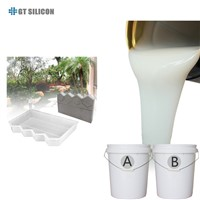 RTV-2 Condensation Silicone Rubber Silicon Molds for Stamp Concrete Casting