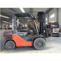 Toyota Forklift 3ton Diesel Manual Forklift Truck CPC30 FD30 Mechanical Transmission