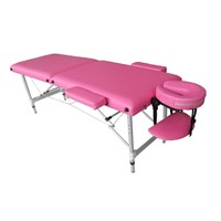 2 Section Alulminum Massage Table, Table De Massage, Portable Massage Table
