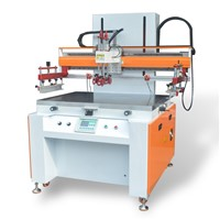 Silk Screen Printing Glass Machine(CW-6090G) & Semi-Automatic Flat Screen Printing Press for Plastics