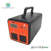 Solar Generator 110V/220V AC/DC 500W Portable Power Station for Outdoors & Home Emergency