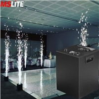 China Touchable Wedding Stage Effects Cold Spark Fountain Safety Indoor Spark Flame Fireworks Machine