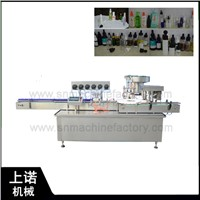 Auto Disinfection Alcohol Spray Bottle Filling & Capping Machine