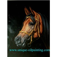 Horse Oil Painting, Animal Oil Painting