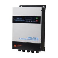 7500W Three Phase Solar Pump Inverter with MPPT Max DC Input 800V 7.5KW Solar Domestik Water Supply System