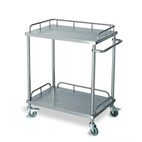 Hospital Stainless Steel Instrument Trolley/Instrument Cart