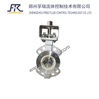 Manual Ceramic Butterfly Valve