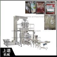 Automatic Vertical Stand up Pouch Bag 1kg Coffee Beans Granule Packing Machine