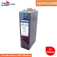 Csbattery 2V2000ah Solar Storage Opzs Battery for Marine/Automotive/Solar/Wind-Power-Systems