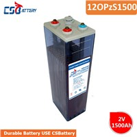 Csbattery 2V1500ah Tubular Opzs Battery for Telecome/UPS/Railway/Security/Medical/Alarm/Cable-TV-Appliation