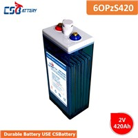 Csbattery 2V420ah Solar Opzs Battery for Telecom/Solar/Inverter/Pump/Forklift