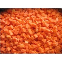 Sell Frozen Carrot Dices IQF Carrot