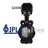 Gear Operated Ductile Iron V-Series Marine Wafer Butterfly Valves