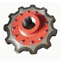 Cement Bucekt Elevator Sprocket Traction Wheel Price
