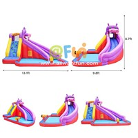 Hot Inflatable Water Slide Cheap Water Games for Kids High Quality Children Jumping Castle Inflatable