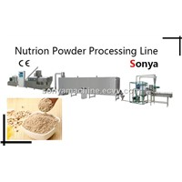 Nutrion Powder Processing Line/Rice Powder Production Line/Nution Powder