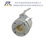 Manual Operated Ceramic Ball Valve