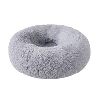 Popular Cat's Nest Dog House Spot Plush Round Dog Cushion Soft Deep Sleep Warm Winter Semi Enclosed Pet Cat's Nest