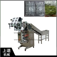 Semi Automatic Snack Food French Fries Cookies Chain Bucket Packaging Wrapping Machine