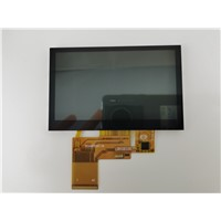 "4.3"" TFT LCD Module, Resolution 480X272, High Birghtness 500nits"