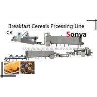 Breakfast Cereals Processing Line/Cereal Breakfast Production Line/Puffed Grains