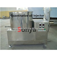 Quantitative Oil Injector/Double Drum Seasoning Machine/Snack Food Seasoning Machine