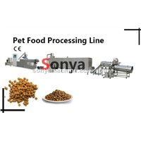 Core Filling Pet Food Processing Line/Pet Food Machine/Meat Strip Processing Line
