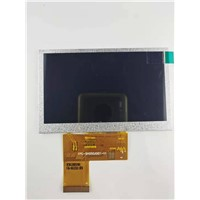 "4.3"" TFT LCD Module, 800x480, 800nits, HL043T35-01, IPS, Free View Angle!"