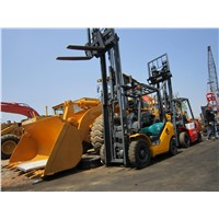 Cheap Price Second Hand Diesel Mini Forklift 2.5t KOMATSU FD25 In China