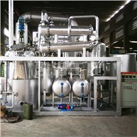 Used Car Oil Recycling Base Oil Distillation Machine