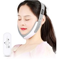 Home Use V Face Lift Massager Double Chin Massager EMS Facial Firming Device Red Blue Ray Beauty Device