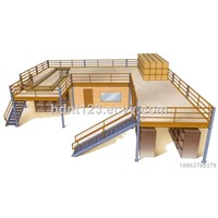Warehouse Storage Multi-Level Mezzanine Platform Rack / Mezzanine Flooring