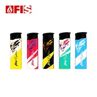 Windproof Refillable Gas Lighter Disposable Cigarette Lighters