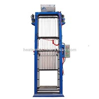 X Type Aluminum Heating Element Filling Machine 10 Station