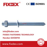 High Quality Galvanized Steel M8-M30 Chemical Anchor Bolts