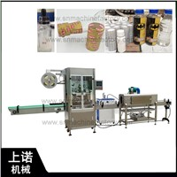 Automatic Shrink Sleeve Labeling Machine for Drinks Bottle